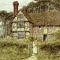 Unstead Farm Godalming by Helen Allingham