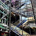 Up And Down Reflections 2 by Burney Lieberman