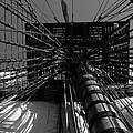 Up To The Crow's Nest - Monochrome by Ulrich Kunst And Bettina Scheidulin