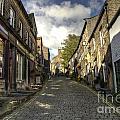 Uphill At Haworth by Rob Hawkins