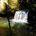 Upper Butte Creek Falls 2 by Linda Hutchins