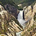 Upper Falls Yellowstone by Jon Berghoff