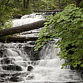 Upper Wagner Falls by Cindy Lindow