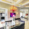 Upscale Dining Room Interior by Skip Nall