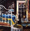 Upstairs by Kitty Meekins