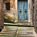 Urbino Door And Stairs by Sharon Foster