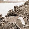 Urquhart Castle Ages by Chuck Kuhn