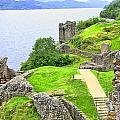 Urquhart Castle IIi by Chuck Kuhn