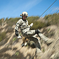 U.s. Air Force Airman Practices by Stocktrek Images