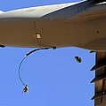 U.s Air Force Airmen Parachute by Stocktrek Images
