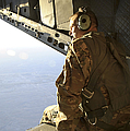 U.s. Air Force Commander Sits Harnessed by Stocktrek Images