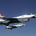 U.s. Air Force F-16 Thunderbirds by Stocktrek Images