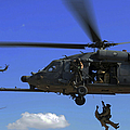 U.s. Air Force Pararescuemen by Stocktrek Images