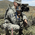 U.s. Air Force Sergeant Shoots Video by Stocktrek Images