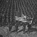 U.s. Army 41st Engineers On Parade by Everett