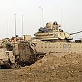 U.s. Army M2 Bradley Infantry Fighting by Stocktrek Images