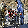 U.s. Army Soldier Conducts Vehicle by Stocktrek Images