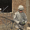 U.s. Army Soldier Configures by Stocktrek Images
