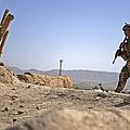 U.s. Army Soldier On A Foot Patrol by Stocktrek Images