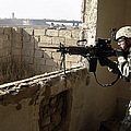 U.s. Army Soldier Searching by Stocktrek Images