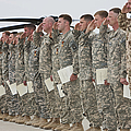U.s. Army Soldiers And Recipients by Terry Moore