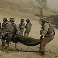U.s. Army Soldiers Medically Evacuate by Stocktrek Images