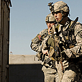 U.s. Army Soldiers Search A Site by Stocktrek Images