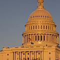 Us Capital Dome Sunset Glow by Dustin K Ryan