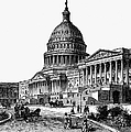 U.s. Capitol, 1884 by Granger
