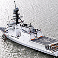 U.s. Coast Guard Cutter Stratton by Stocktrek Images