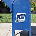 Us Mail Box . 5d18813 by Wingsdomain Art and Photography