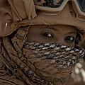 U.s. Marine Covered In Dirt by Stocktrek Images