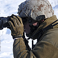 U.s. Marine Looks by Stocktrek Images