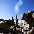 U.s. Marines Brace Themselves While by Stocktrek Images