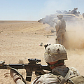 U.s. Marines Fire Several by Stocktrek Images