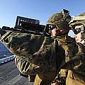 U.s. Marines Practice Firing by Stocktrek Images