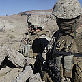 U.s. Marines Take A Break by Stocktrek Images