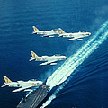 Us Navy Fj-2 Jets by Science Source