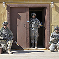 U.s. Soldiers On Guard At Fort Irwin by Stocktrek Images