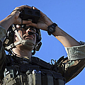 U.s. Special Operations Soldier Looks by Stocktrek Images