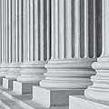 Us Supreme Court Building IIi by Clarence Holmes