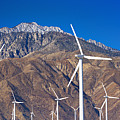 Usa, California, Palm Springs, Wind Farm by Tetra Images