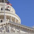 Usa, California, Sacramento, California State Capitol Building by Bryan Mullennix