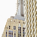 Usa, New York City, Detail Of Empire State Building by Tetra Images