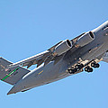 Usaf C-17 Lift Off  by Carl Deaville