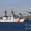 Uscgc Boutwell by Tommy Anderson