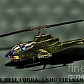 Usmc Ah-1 Cobra by Tommy Anderson