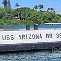 Uss Arizona Bb 39 Marker by Mary Deal