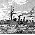 Uss Baltimore, 1890 by Granger