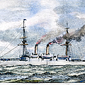 Uss Boston, 1890 by Granger